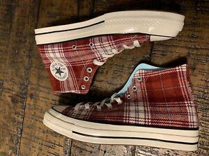 Converse Chuck 70 Plaid High Top Shoes