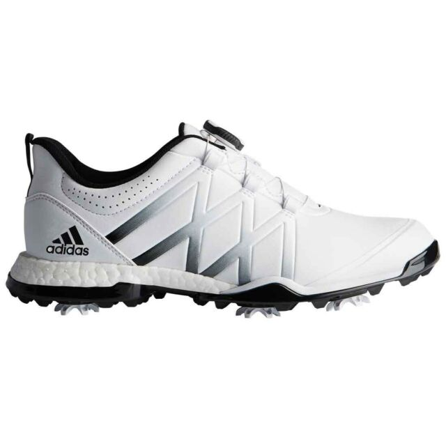 NEW WOMEN'S ADIDAS ADIPOWER BOOST BOA GOLF SHOES WHITE F33648 PICK A SIZE