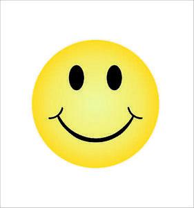 Smiley-Face-Sticker-Decal-Self-Adhesive-Vinyl-smile-happy-Car-Body-Bumper-Decor