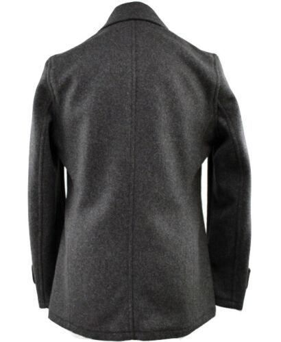 Cappotto grigio antracite di lana pisello di z7wzCxqv