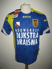 Cambuur Leeuwarden SIGNED Holland football shirt soccer jersey voetbal size XS/S