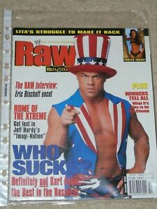 WWE-MAGAZINE-RAW-OCTOBER-2002-WRESTLING-KURT-ANGLE-COVER-WWF