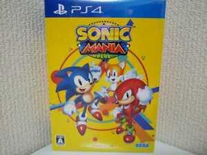 PS4-SONIC-MANIA-PLUS-Soundtrack-CD-Artbook-Japan