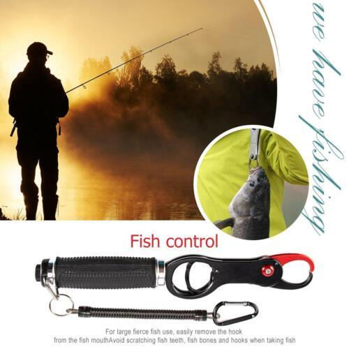 EVA Handle Portable Fish Control Clamp Device Fishing Grip Holder Pliers Clip