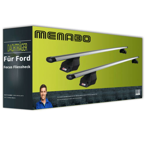 Alu für Ford Focus Fliessheck IV Typ HN kpl Dachträger Menabo Tema + EBA