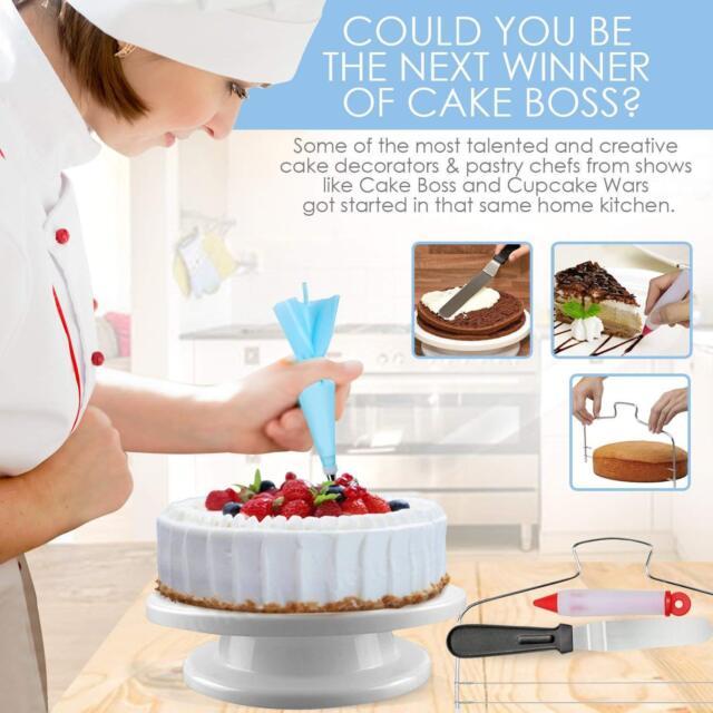 New Cake Decorating Supplies Professional Cupcake Decorating Kit