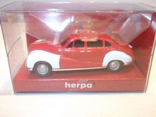 Herpa 043779  BMW 502 Feuerwehr mit OVP  1:87