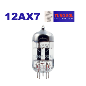 Tung-Sol 12AX7 Tube Improved reissue of the Vintage NOS 7025 / ECC83 equivalent