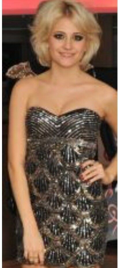Lipsy Vip Embellished Dress As Seen On Pixie Lott - Fab Prom Dress