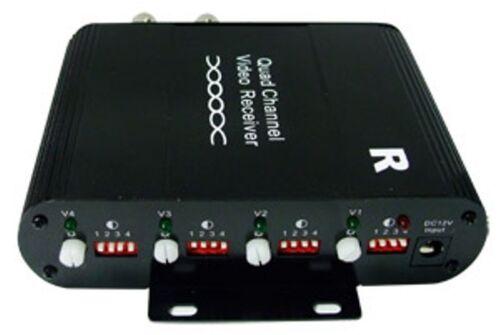 4CH Active Cat5 to BNC Converter Video Balun Receiver BL-04AR