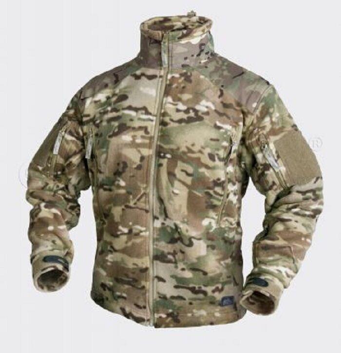 Helikon Tex Liberty Lourd Veste Polaire Extérieur Camouflage Camogrom L grand