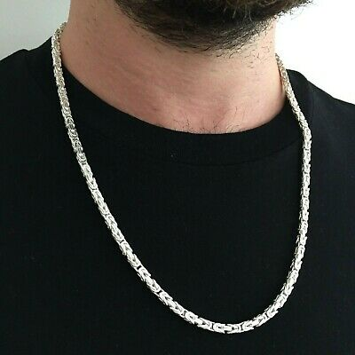 Viking Chain Necklace 4mm 58gr Real 925