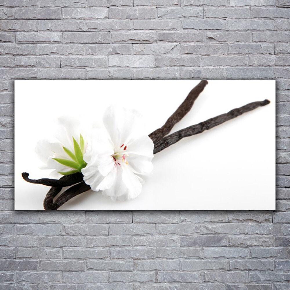 Verre Imprimer Wall Art Image 120x60 Photo Fleur Floral