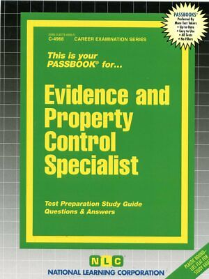 Evidence and property control specialist exam book