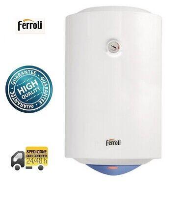SCALDABAGNO Elettrico Ferroli titano Scalda Acqua 50 80 100 120 150  Litri