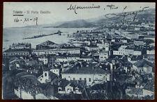 cartolina TRIESTE il porto vecchio