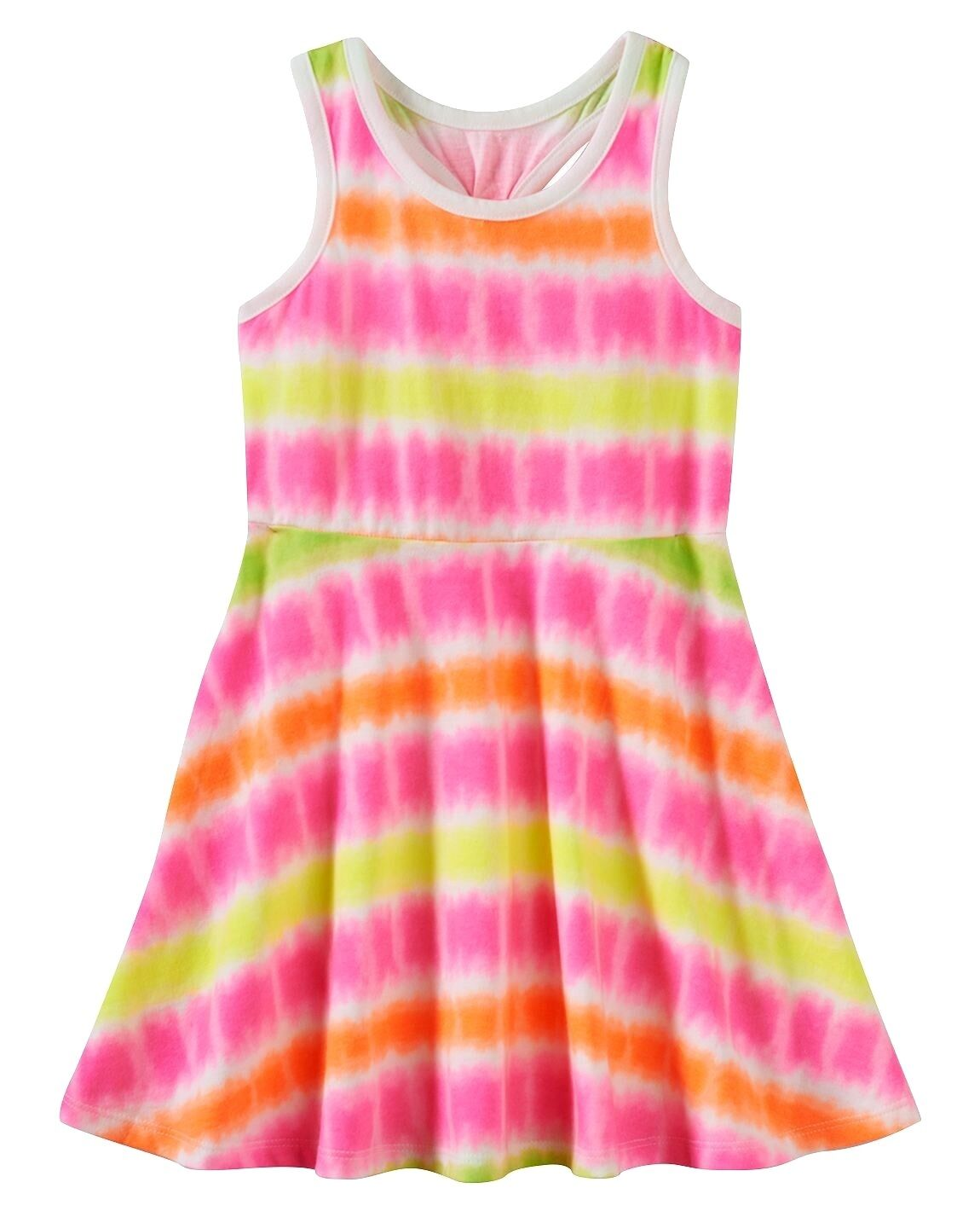 NWT Jumping Beans Pink Tie Dye Dress Baby Girl Sizes 12M 18M Girls 4 2T 3T