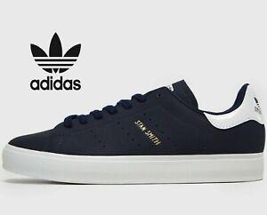 Details zu 2020 Adidas Originals Stan Smith Vulc ® ( Size UK 6 EUR 39.5 ) Dark Blue Navy