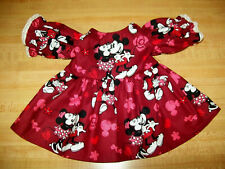 """DISNEY HALLOWEEN MICKEY MINNIE MOUSE DRESS W// BUTTONS for 16/"""" CPK Cabbage Patch"""