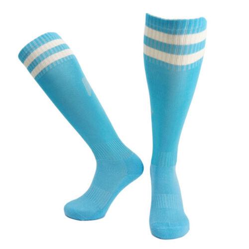 Erwachsene Kinder Fußball Socken Rutschfest Nylon Komfortabel Praktisch