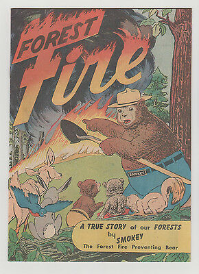FOREST FIRE 1st SMOKEY THE BEAR  (PERFECT 4 CGC CBCS PGX OR?)  VACATION TOUR KIT