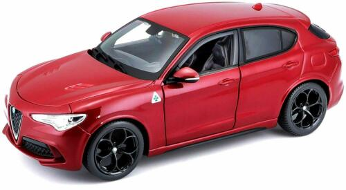 ALFA ROMEO STELVIO 1:24 scale diecast model car die cast toy miniature red