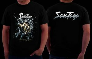 SAVATAGE Power of the Night-American heavy metal band,T/_shirt-SIZES:S to 6XL