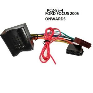 Details about FORD FOCUS 2004 to 2011 ISO STEREO HEAD UNIT HARNESS on