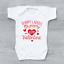 miniature 1 - Sorry Ladies Mummy Is My Valentine Cute Funny Girls Baby Grow Bodysuit