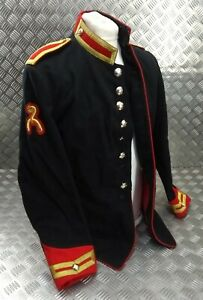 Genuine-British-Army-Issue-RHG-Blues-amp-Royals-Trooper-H-Cav-Tunic-Faulty-EBYT325