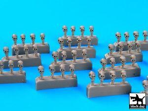Black-Dog-1-72-Skulls-56-pieces-Resin-Diorama-Figure-Accessory-D72020