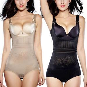51b7670739 Image is loading Women-Full-Body-Waist-Trainer-Bodysuit-Shaper-Underbust-