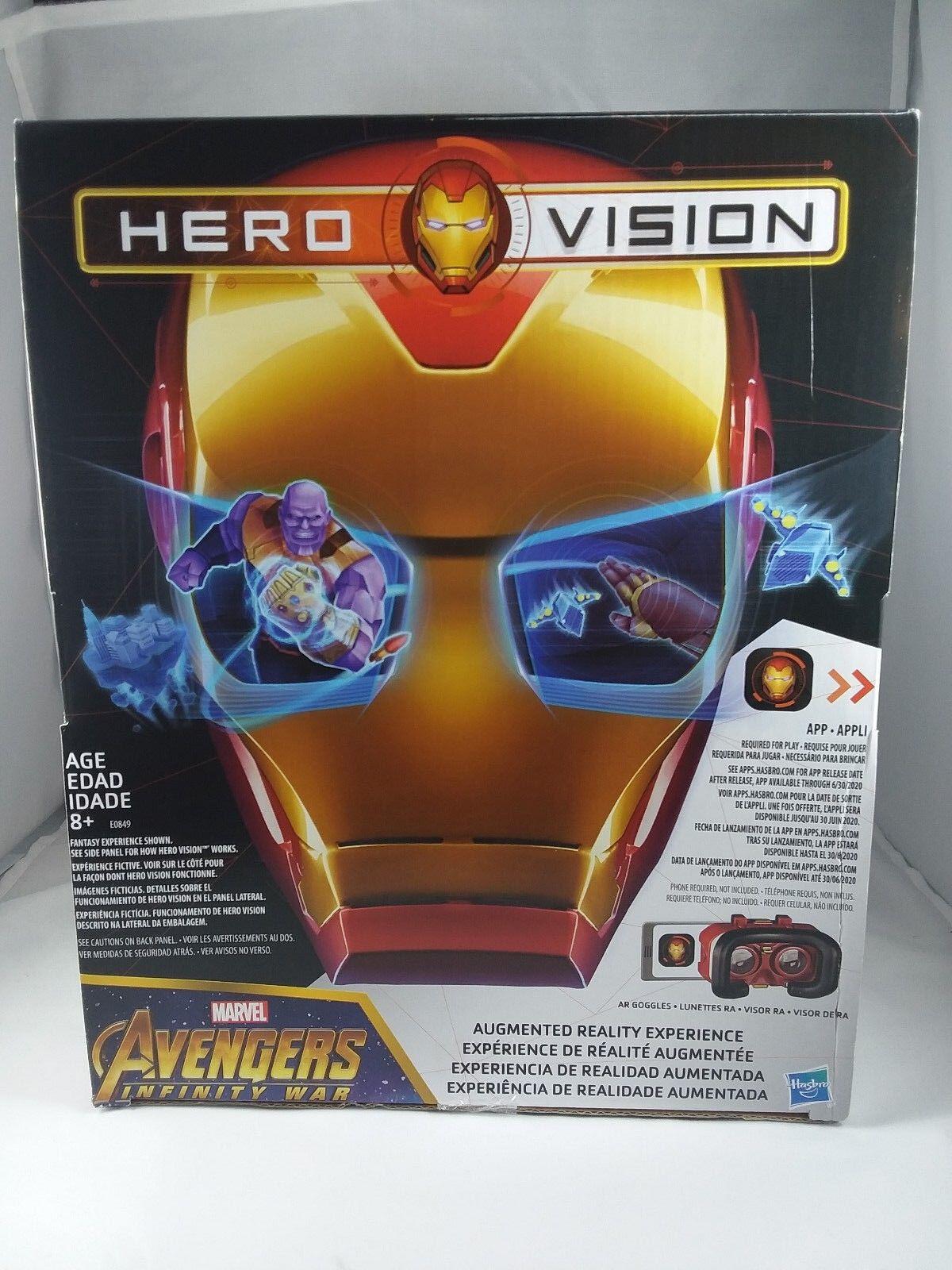 Hasbro - marvel avengers  infinity kriegsheld vision iron - man - ar - erfahrung