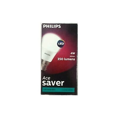 PHILIPS 4w LED BULB THE FUTURE OF LIGHTING COOL WHITE COLOR B22 BASE