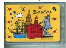"""Sealed Deck, """"Boston"""" MA, Playing Cards Made in China"""