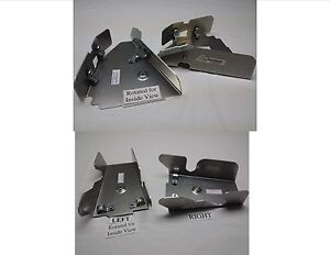 Honda RUBICON 500 IRS 15-19 Front /& Rear CV BOOT Guards SKIDS Aluminum