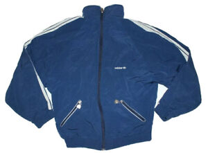 Vintage 80`s Adidas Jacket Made in West Germany Size 6`1`` NLV