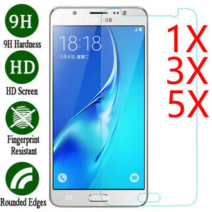 5X-Tempered-Glass-Film-Screen-Protector-Cover-For-Samsung-Galaxy-J2-J3-J5-J7-Pro