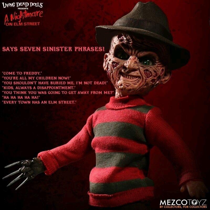 Living Dead Dolls - FROTdy Krueger - 25cm Talking Doll