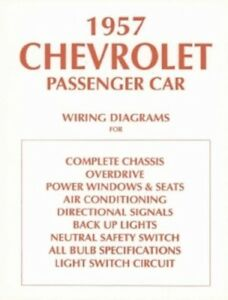 details about chevrolet 1957 chevy car wiring diagram 57 1957 vw wiring diagram wiring diagram