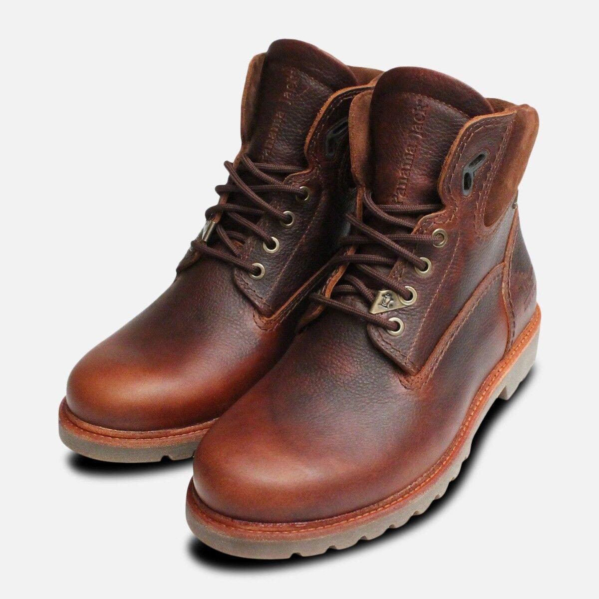Gore Tex Panama Jack Chestnut Wasserfeste Stiefel