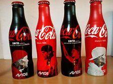 Set de 4 bouteilles coca cola AVICII 2015 /FULL