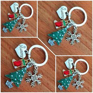 XMAS GIFT keyring for Mum Daughter sister Friend cousin Nan Christmas Gifts #3