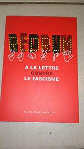 Redrum-a-la-lettre-contre-le-fascisme-Collectif