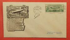 1933 FDC #C18 GRAF ZEPPELIN CENTURY OF PROGRESS FLIGHT