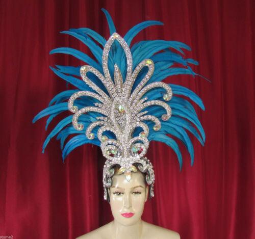 DaNeeNa H1862 Queen of Hawk Showgirl Pageant Dancer Feather Headdress