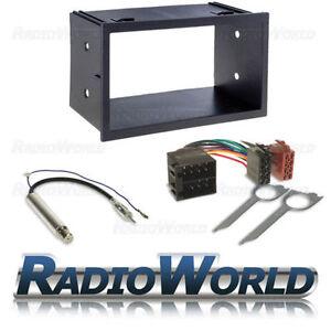 Seat-Ibiza-Doble-Din-Stereo-Radio-Fascia-Facia-Panel-Kit-de-montaje-de-sonido-envolvente
