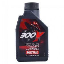 Motul 300V 10W40 Double Ester Technogoly Fully Synthetic Engine Oil - 1 Lt
