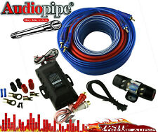 NEW Audiopipe Complete 4 Gauge Amp kit with Line Out Converter PK2140HPS