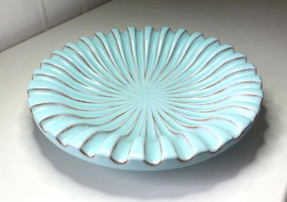 Keramik, Vintage keramikskål, Schollert